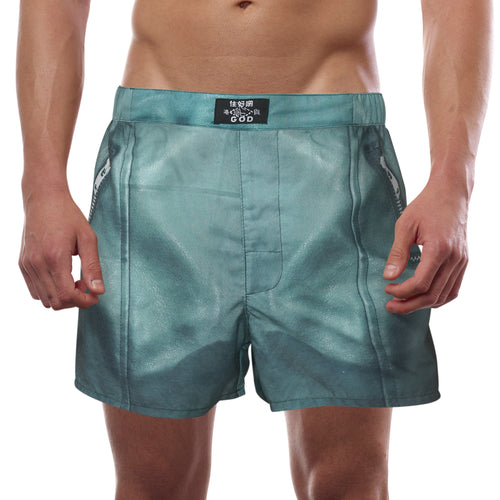 'Leather shorts' men boxer shorts | Goods of Desire