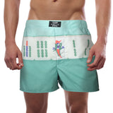 'Mahjong Bamboo' men boxer shorts | Goods of Desire