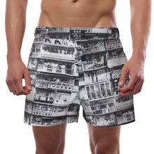 Load image into Gallery viewer, Goods of Desire 'Yaumati' men boxer shorts (black/white)