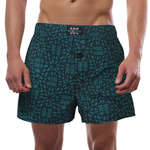 Goods of Desire 'Indigo Double Happiness' men boxer shorts