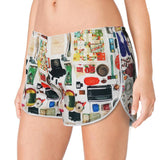 'Paraphernalia' women boxer shorts