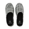 'Newspaper' unisex slippers