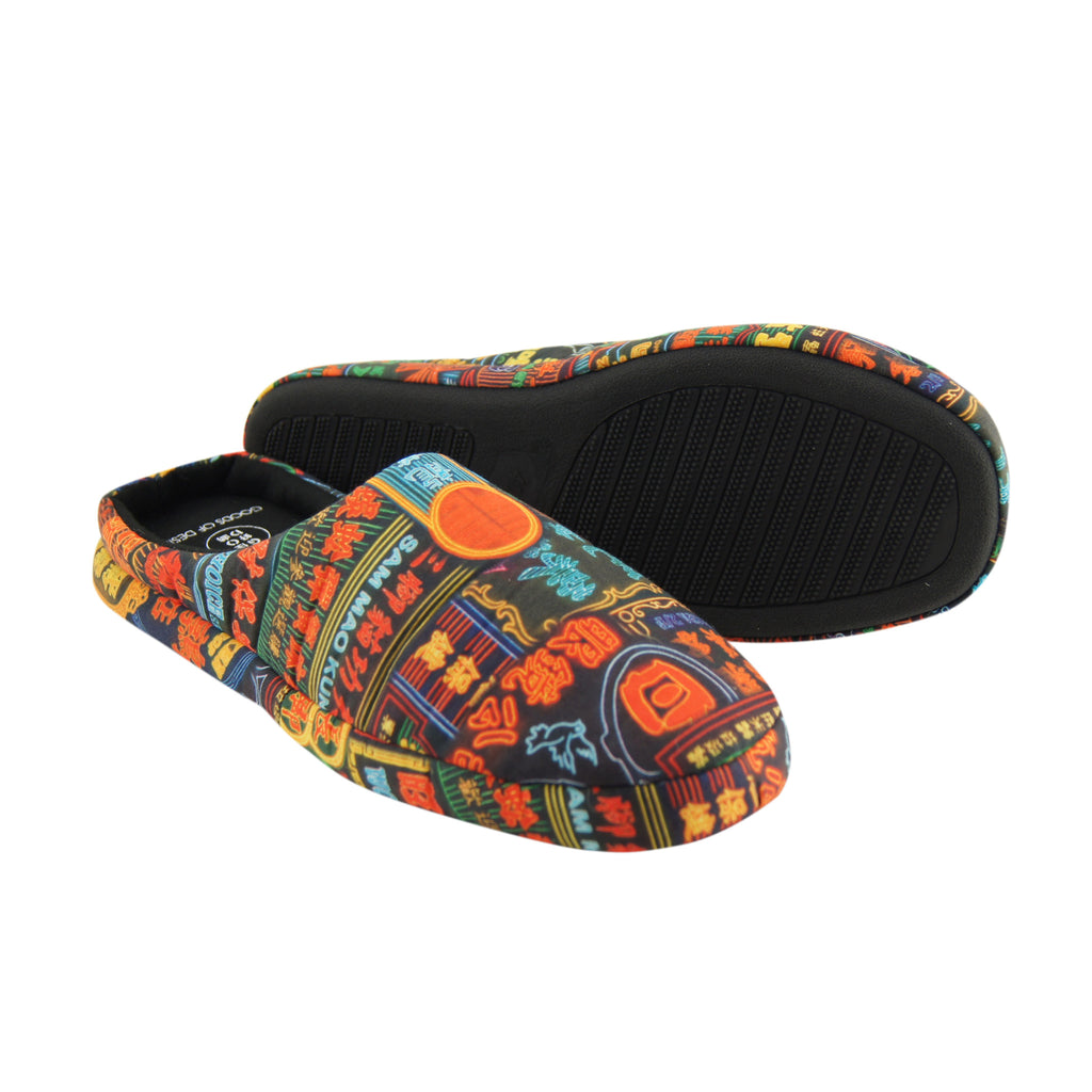 'Nathan Road' unisex slippers