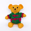 Bear with Green Chinese Jacket, Yellow