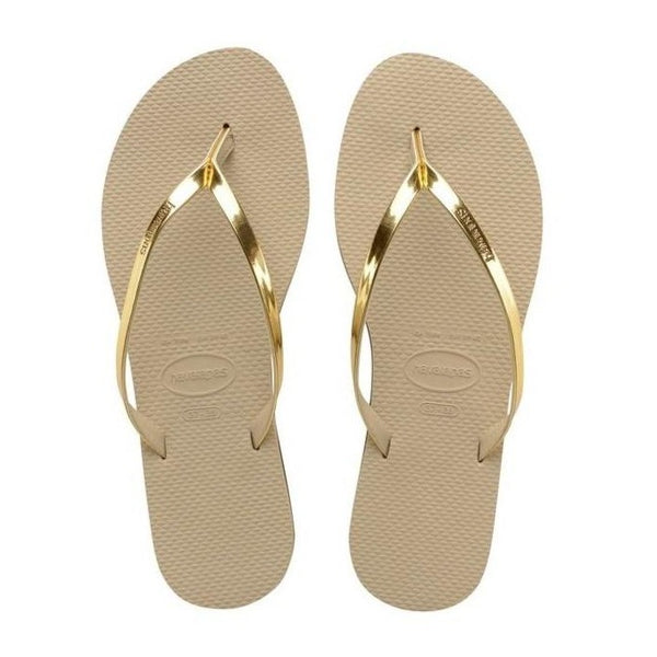 Havaianas You Metallic, Light Golden