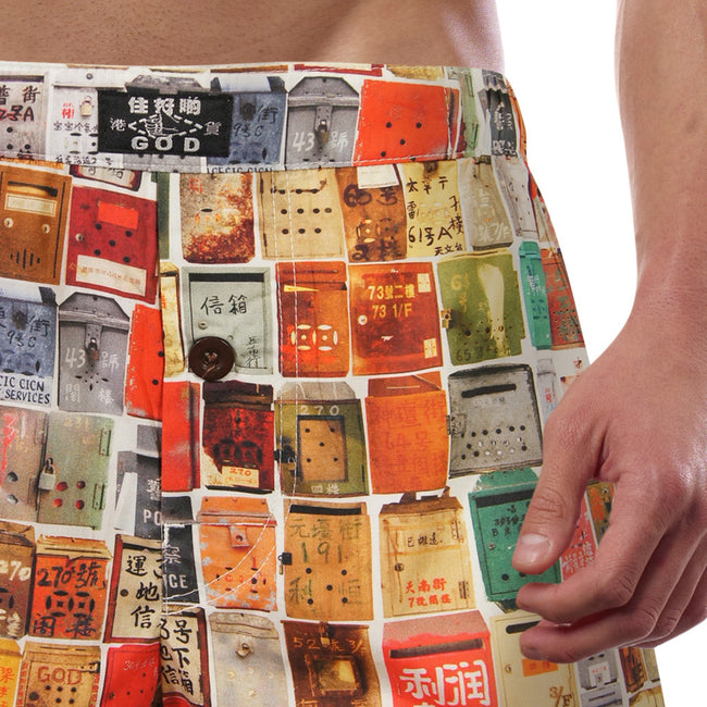 'Letterbox' men's boxer shorts