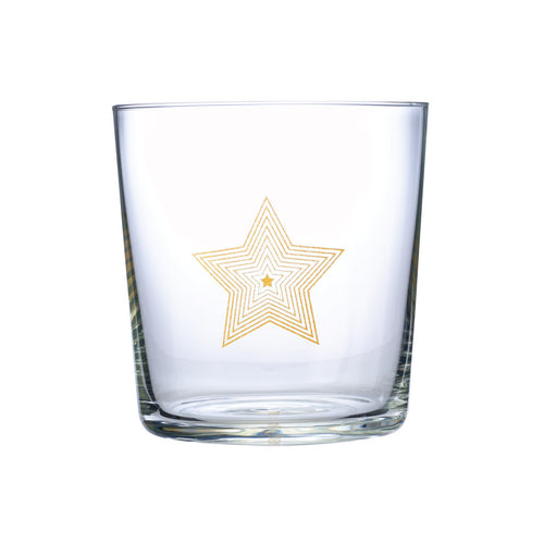 Loveramics Urban Glass 330ml glass tumbler (Star)