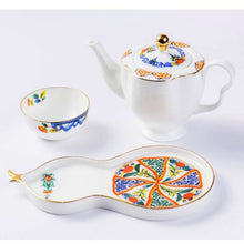 Load image into Gallery viewer, ByLeona The Hu-lu Fine Bone China Series Teapot Set