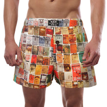 Load image into Gallery viewer, 'Letterbox' men's boxer shorts