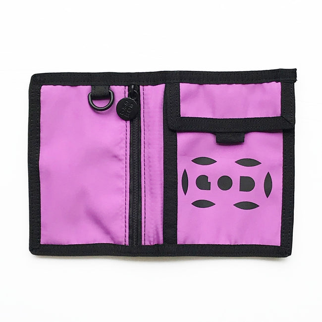 Letterbox Lightweight Wallet, Purple