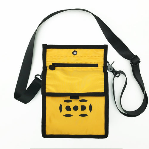 Letterbox Lightweight Pouch, Dark Yellow