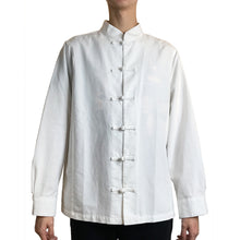 Load image into Gallery viewer, Knot Button Dress Shirt, White