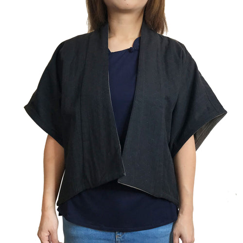 2 way Cardigan, Black