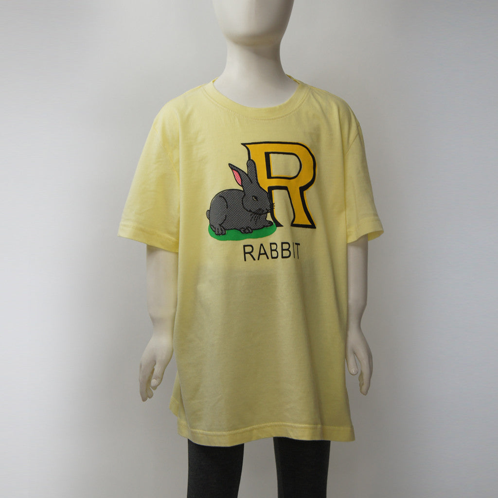 'Retro Eraser' kids tee (rabbit)