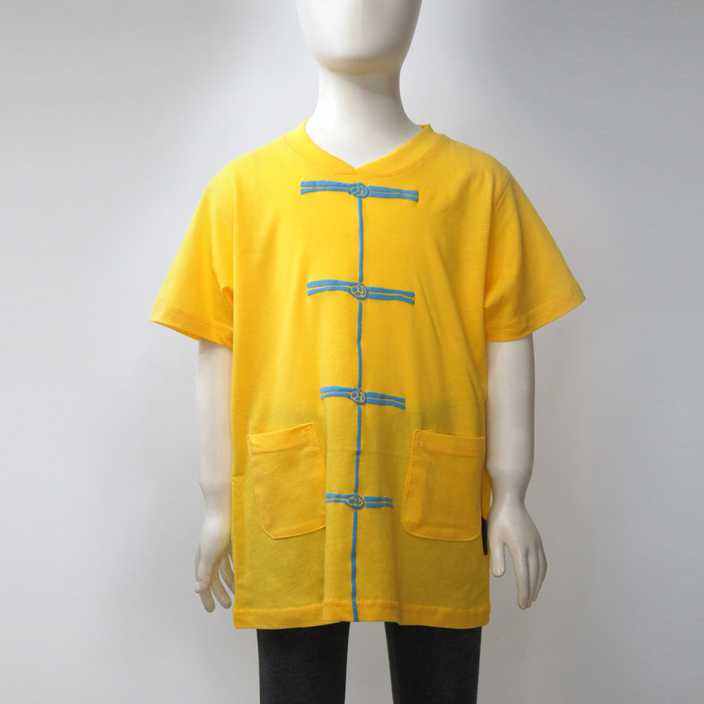 Kids 'Chinese Button' tee