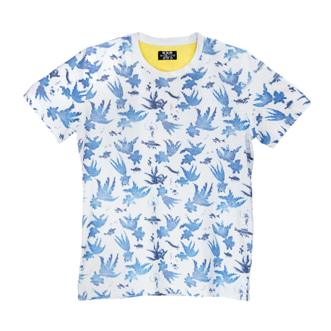 'Goldfish' t-shirt (Blue)