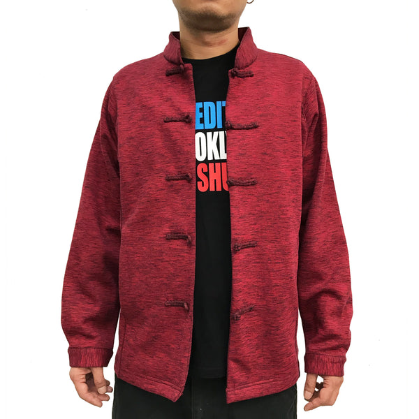 Chinese Buttons Jacket, Red