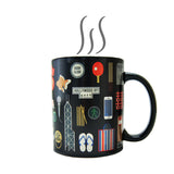 'Hong Kong Favourite Things' heat sensitive mug