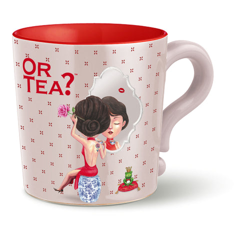 Or Tea? Mug in Misty Grey