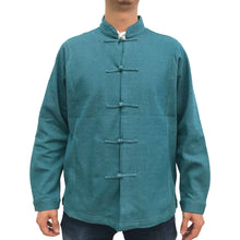 Load image into Gallery viewer, Knot Button Jacket, Teal