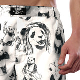 'Pandas!' Men's boxer shorts