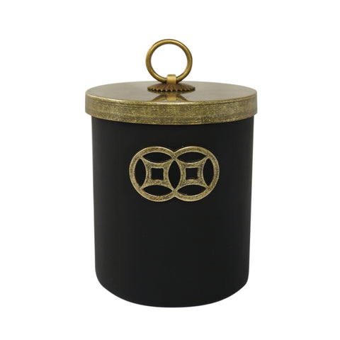 'Black Magic' jar candle