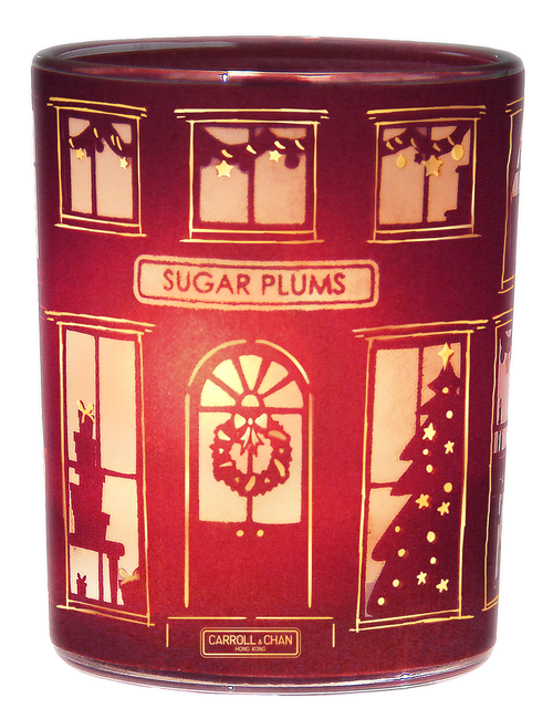 Sugar Plums Beeswax Jar Candle, Christmas Edition by Carroll&Chan