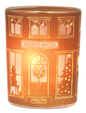 Festive Spices Beeswax Jar Candle, Christmas Edition by Carroll&Chan