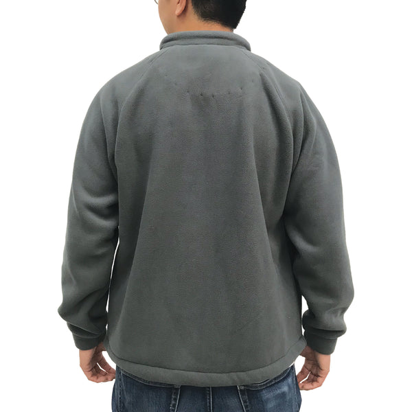 Chinese Fleece Lining Jacket, Grey (Olive)
