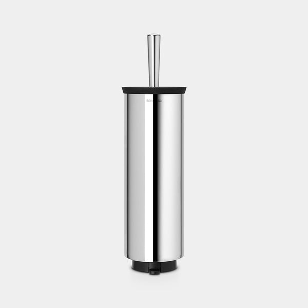 Toilet Brush & Holder, Brilliant Steel by Brabantia