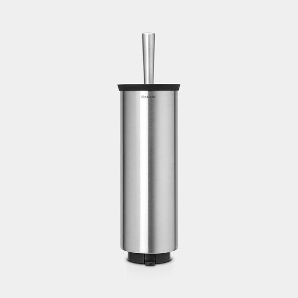 Toilet Brush & Holder, Matt Steel by Brabantia