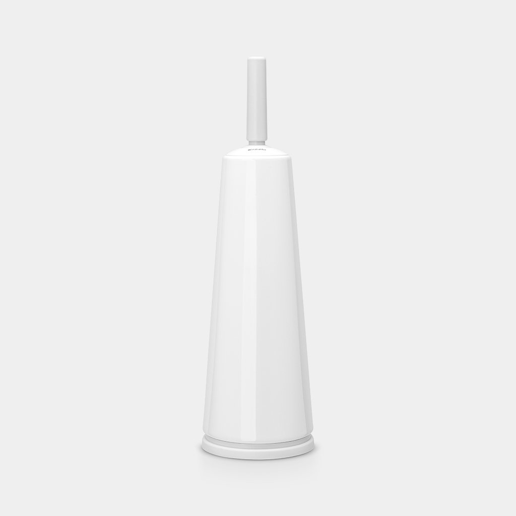 Toilet Brush & Holder Classic, White by Brabantia
