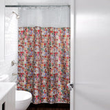 'Letterbox' shower curtain