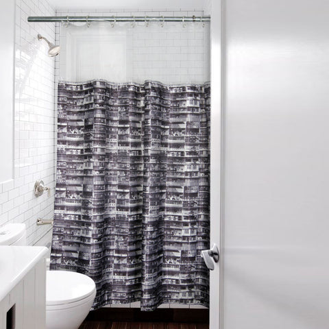 'Yaumati' shower curtain (Large)