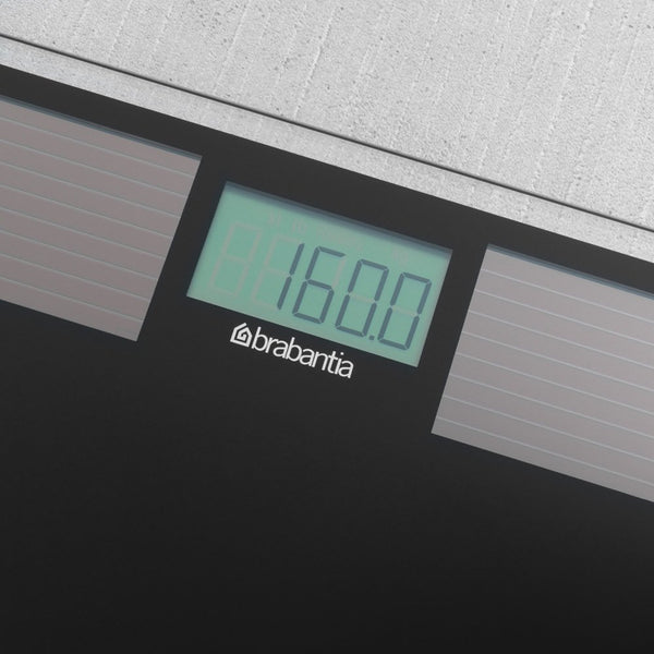 Solar Bathroom Scale, Black by Brabantia