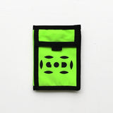 Letterbox Lightweight Wallet, Neon Yellow
