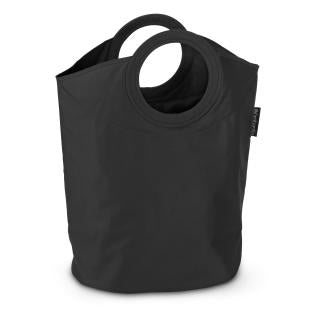 Portable Laundry Bag 50L, Black by Brabantia