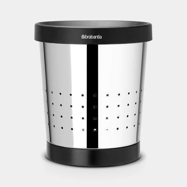 Waste Paper Bin 5L, Brilliant Steel by Brabantia