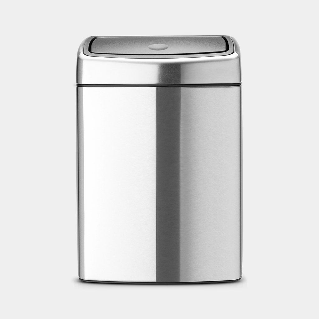 Touch Bin 10L, Matt Steel by Brabantia