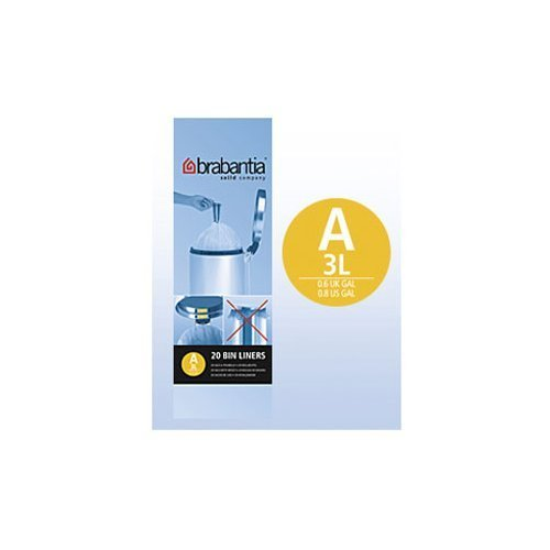 Garbage Bag 3L, 20 pcs/pack by Brabantia