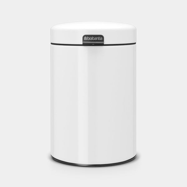 Wall-Mounted Bin 3L, White by Brabantia