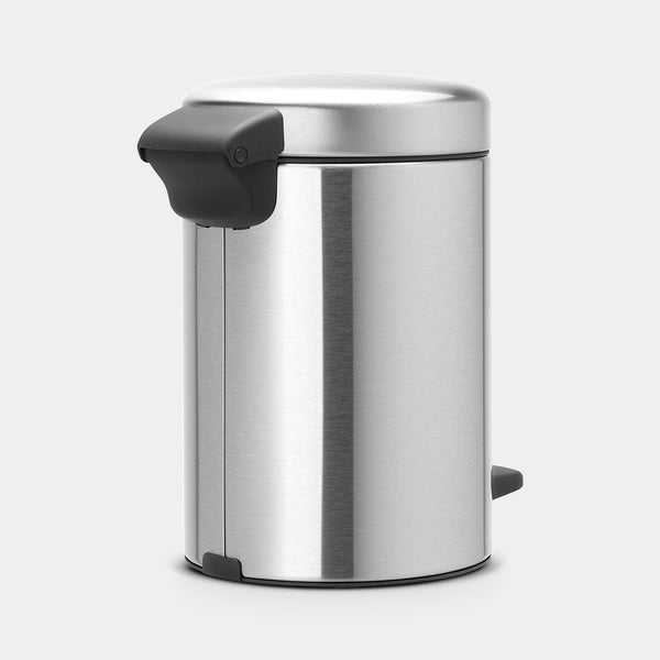 Pedal Bin NewIcon 3L, Matt Steel by Brabantia