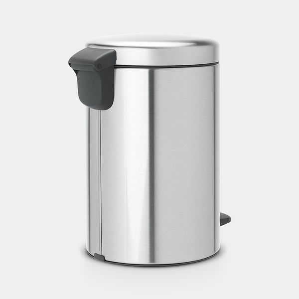 Pedal Bin NewIcon 12L, Matt Steel by Brabantia