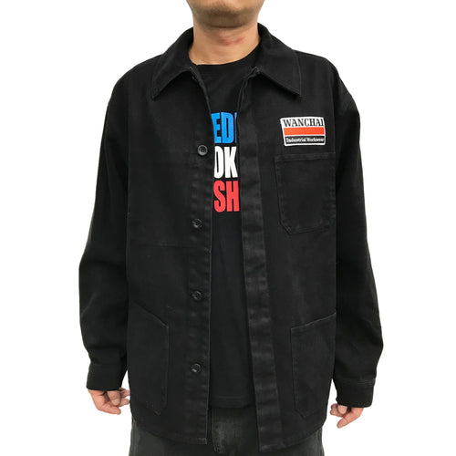 'Wanchai Industrial Workwear' Jacket, Black