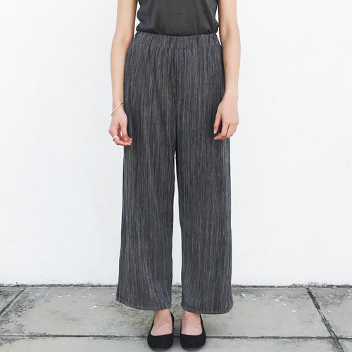 Wide leg pants (Heather Grey)