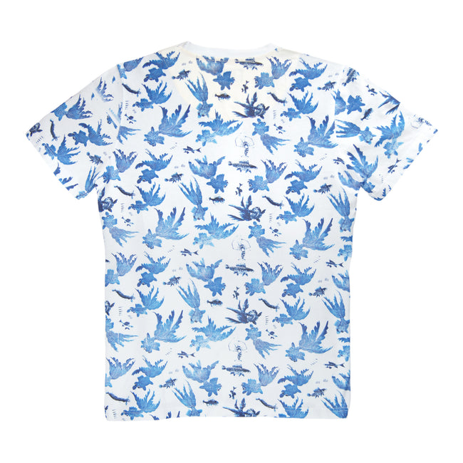 'Goldfish' T-shirt, Blue