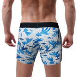 'Goldfish' boxer brief (blue/white) | Goods of Desire