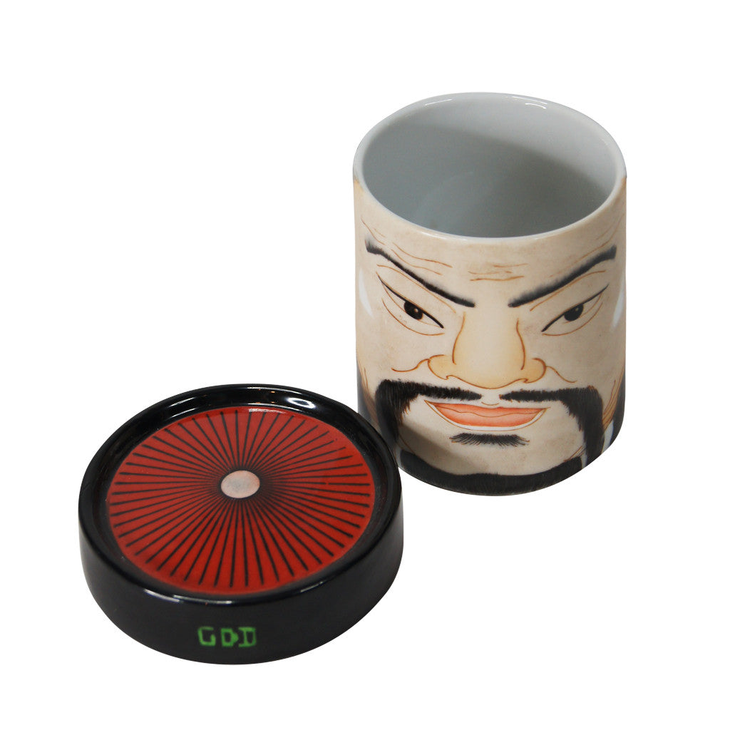 'Emperor' handpainted mug with lid, Tabletop and Entertaining, Goods of Desire, Goods of Desire