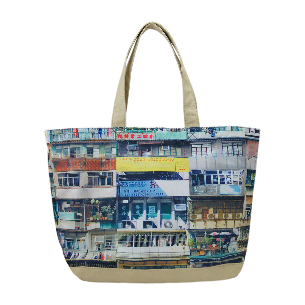 'Yaumati' canvas tote bag (large)