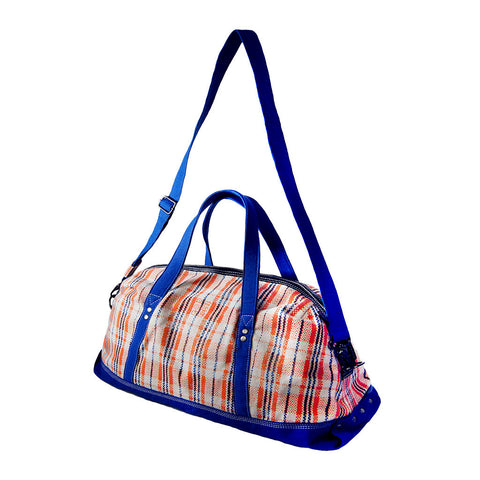 'Amah' red white and blue holdall, Bags and Travel, Goods of Desire, Goods of Desire
